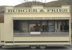 Meran Caterers' Mobile catering trailer